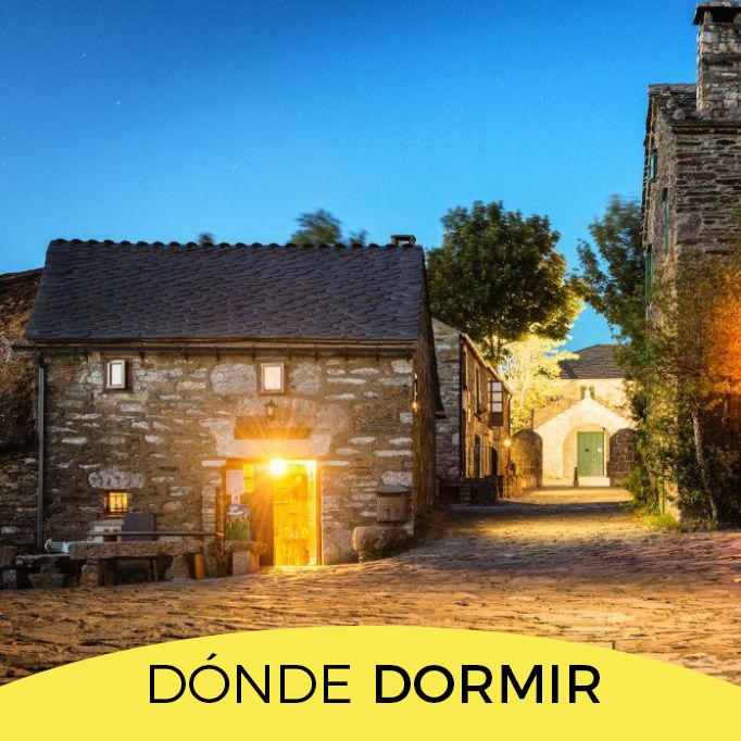 DÓNDE DORMIR